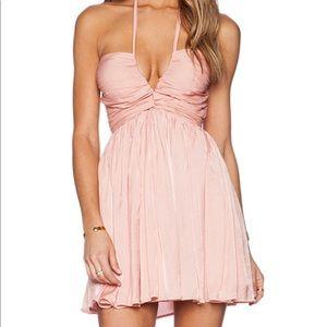 The Jetset Diaries Mini Peach Dress. XS